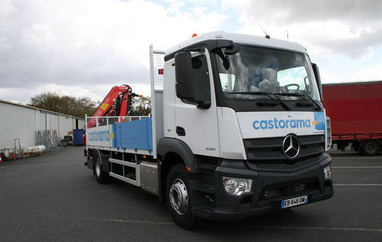 Location de camion longue dur e avec conducteur williamson grand ouest - Castorama location camion ...